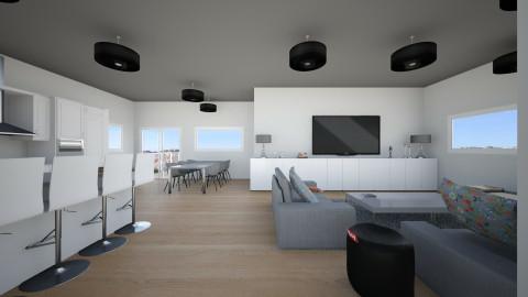 grey apartment - Rustic - by Saar Duyvejonck