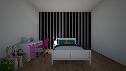 Dream Teen Girl Bedroom - Bedroom  - by theIrishdog