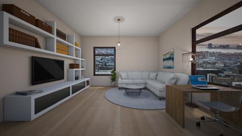 W - Classic - Living room - by Twerka