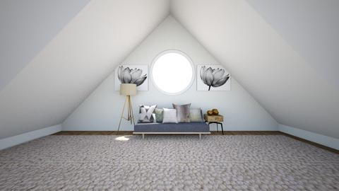 Attic room template - by FANGIRLdesigner