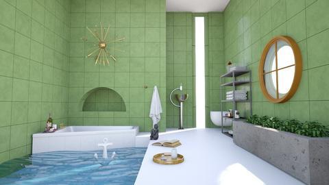 Mariana Trench - Bathroom  - by christuna