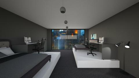 Bedroom 1 - Modern - Bedroom - by eliJ