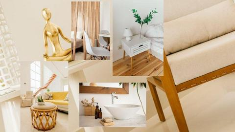 Moodboard wood elements - by Claudia Silaghi