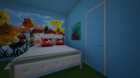 Poppy bedroom - Bedroom - by SofiGotStyle