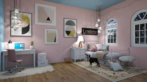 girls dream room - Kids room - by gretchen2005