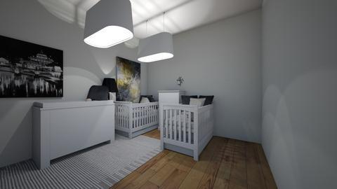 Twin Bedroom - Bedroom  - by LB11