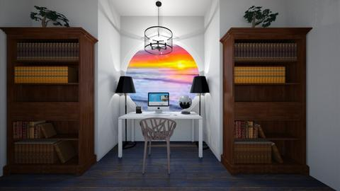 Through The Porthole - Classic - Office  - by Agamanta