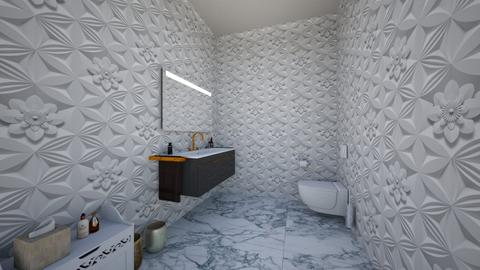 hotel - Vintage - Bathroom - by verunchik