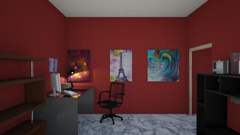 Cuarto de Daka 15 - Bedroom  - by PaolaRoque