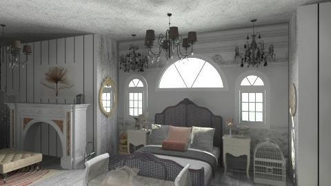 Dark Past - Vintage - Bedroom  - by aduropluvia