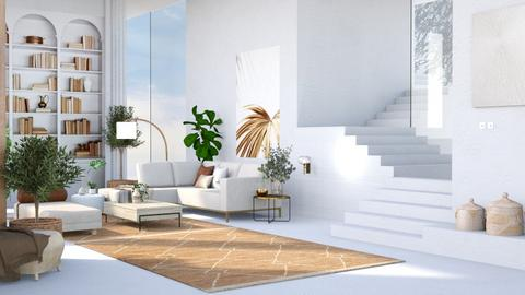 Modern Living - Modern - Living room  - by aestheticXdesigns