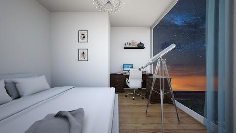 Stargazing inside - Bedroom  - by ATHENANn