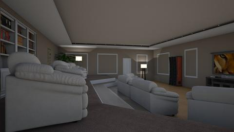 home theater - by and_sew_on