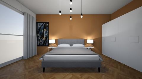 bohemian bedroom - Modern - Bedroom  - by yarno