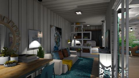 Container Home  - Living room  - by nanabpf