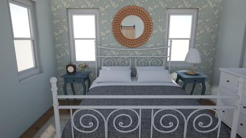 Romance Blue - Bedroom  - by Flaflaf