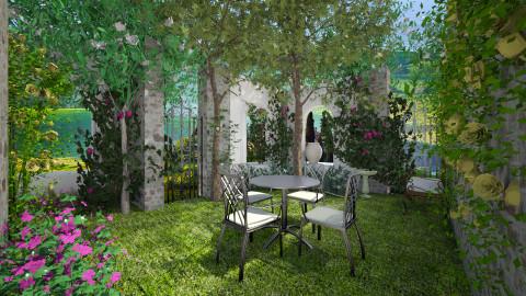 Green - Garden  - by Lizzy0715