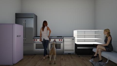 the  kitchen - Kitchen  - by wila7
