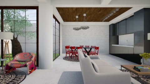 The Simple Life Space - Modern - Living room  - by 3rdfloor