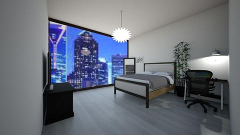 bed room - Modern - Bedroom  - by Nylearb