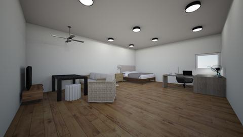 Phong Ngu - Modern - Bedroom  - by hohoangbao