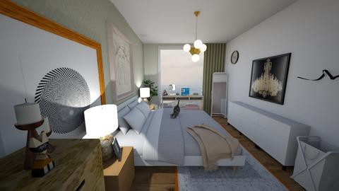 Bedroom v2 - Modern - Bedroom - by jessyctw