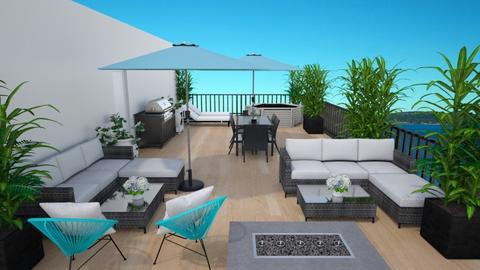 Rooftop Terrace Split - by MyDesignIdeas