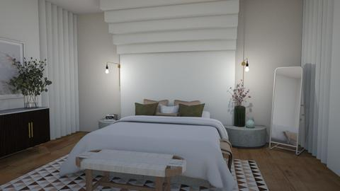 Aesthetic Architecture 1 - Bedroom  - by milk07Designs