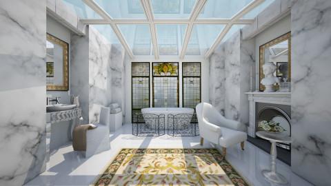 Light - Bathroom  - by chania