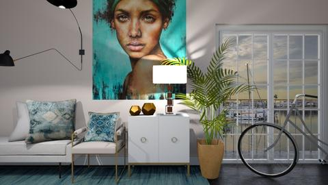 Turquoise Hallway - by JarkaK