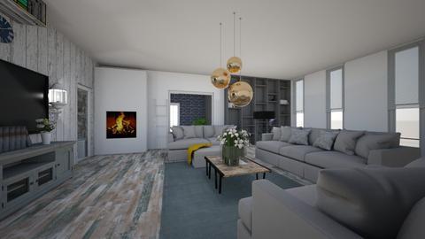 Elegant Christmas - Living room - by neverlanddesigns
