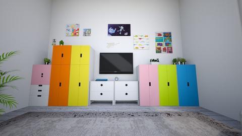 Kids room 1 - Kids room - by Loopsyloo