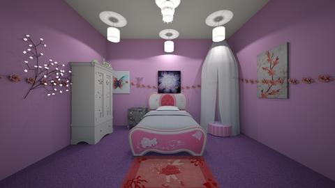Fairy Bed Room - Feminine - Bedroom  - by llama_555