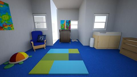 wiggle groups kids room - Country - Kids room  - by bortholf