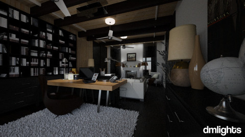 MerlinHome - Office - by DMLights-user-991288
