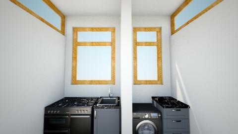 Kuya Leo House Ext - Minimal - Kitchen  - by deanasor