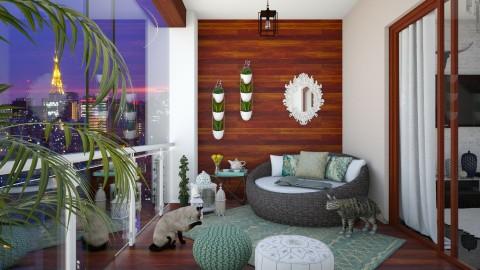 Balcony - Classic - by DeborahArmelin