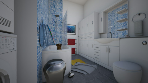 For Nikki 3 - Eclectic - Bathroom  - by Theadora