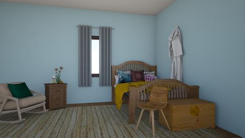 Van Gogh Bedroom - Rustic - Bedroom  - by 29catsRcool