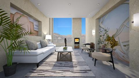Okeeffe Living - Living room - by heyfeyt