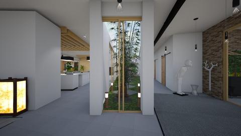 Zen_indoor garden - Garden  - by lovasemoke