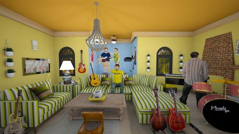 vulfpeck style  - Vintage - Living room - by zayneb_17