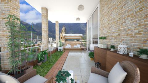 balcony garden - Modern - by Senia N