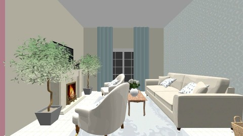 Yeyas New Home - Country - Living room  - by taylorcastro