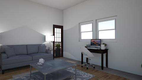 Modern Apartment Living - Modern - Living room  - by AbigailTrice34