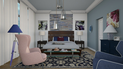 M_Steel symphony - Eclectic - Bedroom  - by milyca8