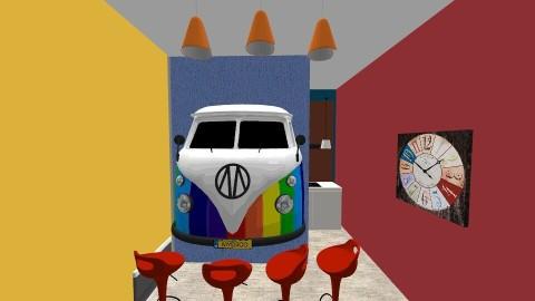 Van a go go 2 - Modern - Dining room - by sharalynne