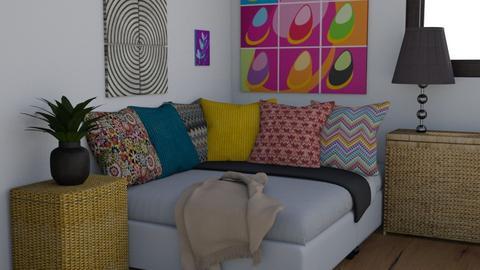 Indie Bedroom - Retro - Bedroom  - by Rinnah02