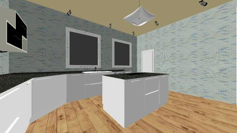 Future Kitchen - Minimal - Kitchen  - by monkeybizz14