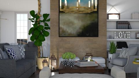 Paz SE - Living room - by CamilaML2723